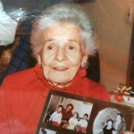 Tanzie at Christmas 1989